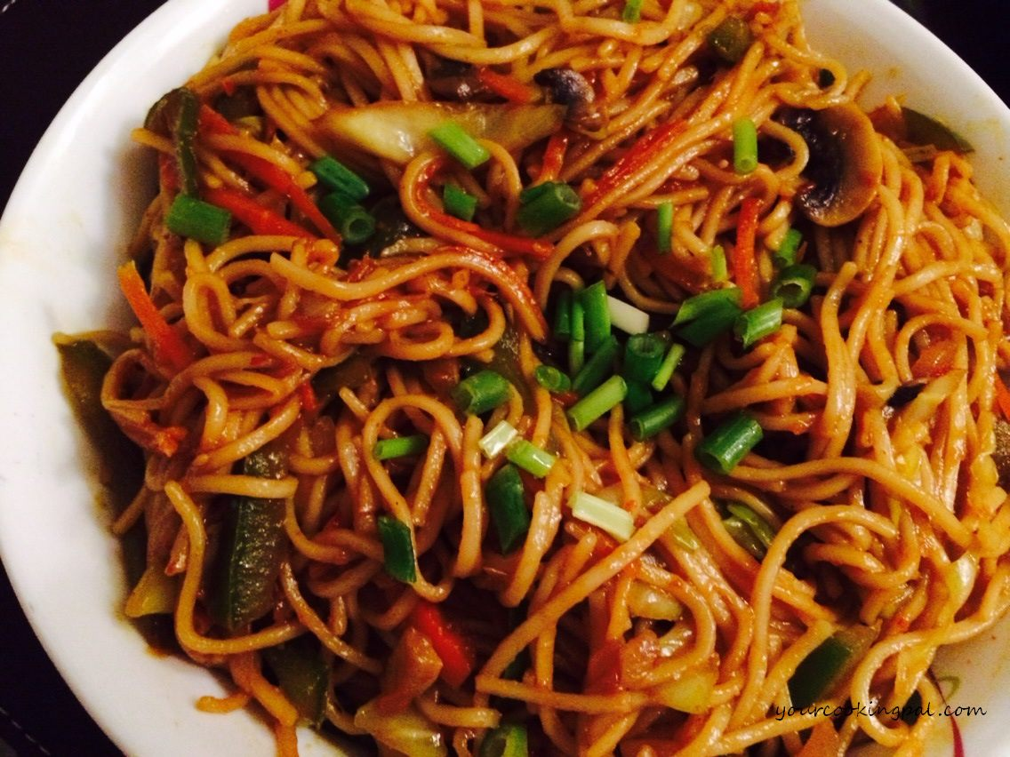 Hot and Spicy Veg Noodles