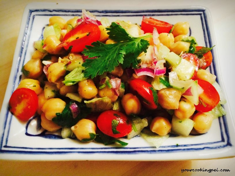 Easy Chickpea Salad