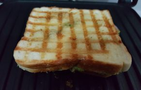 Vegetable cheese grilled sandwich2