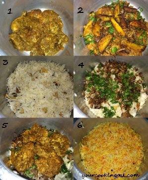 chicken Biryani Layering mainnew
