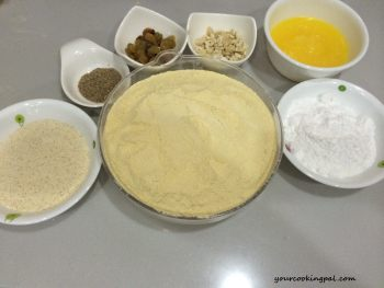 BesanLadoo Ingredients