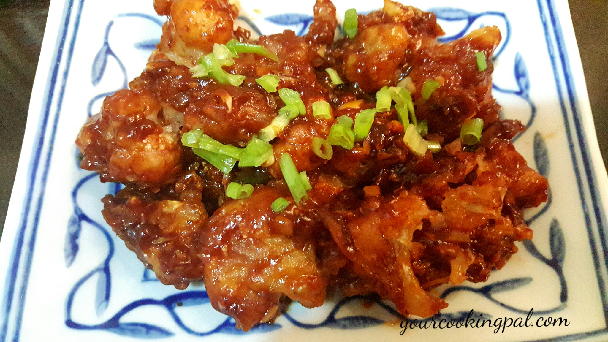 Cauliflower Manchurian- How to make Gobhi Manchurian