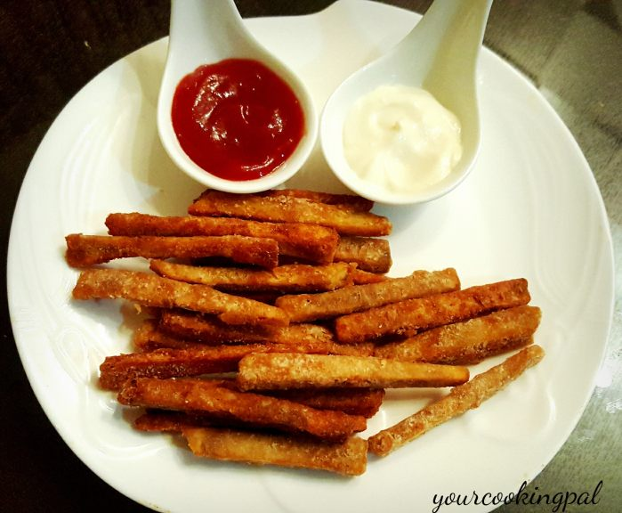 Masala Yam French Fries