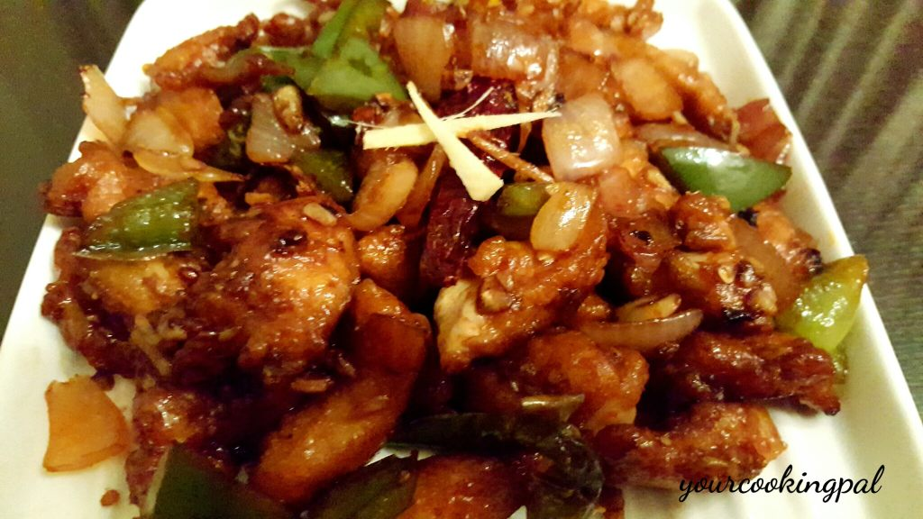 Schezwan Chilli Chicken