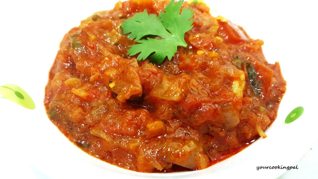 Tomato Sabzi