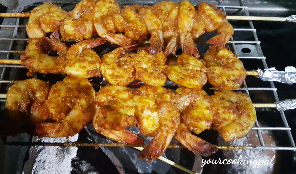 Tandoori Prawns – How to make Barbecue Prawns