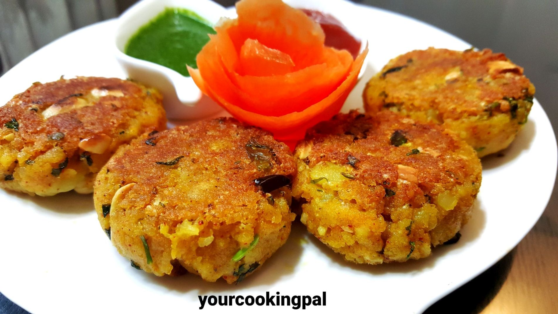 Poha Cheese Cutlets