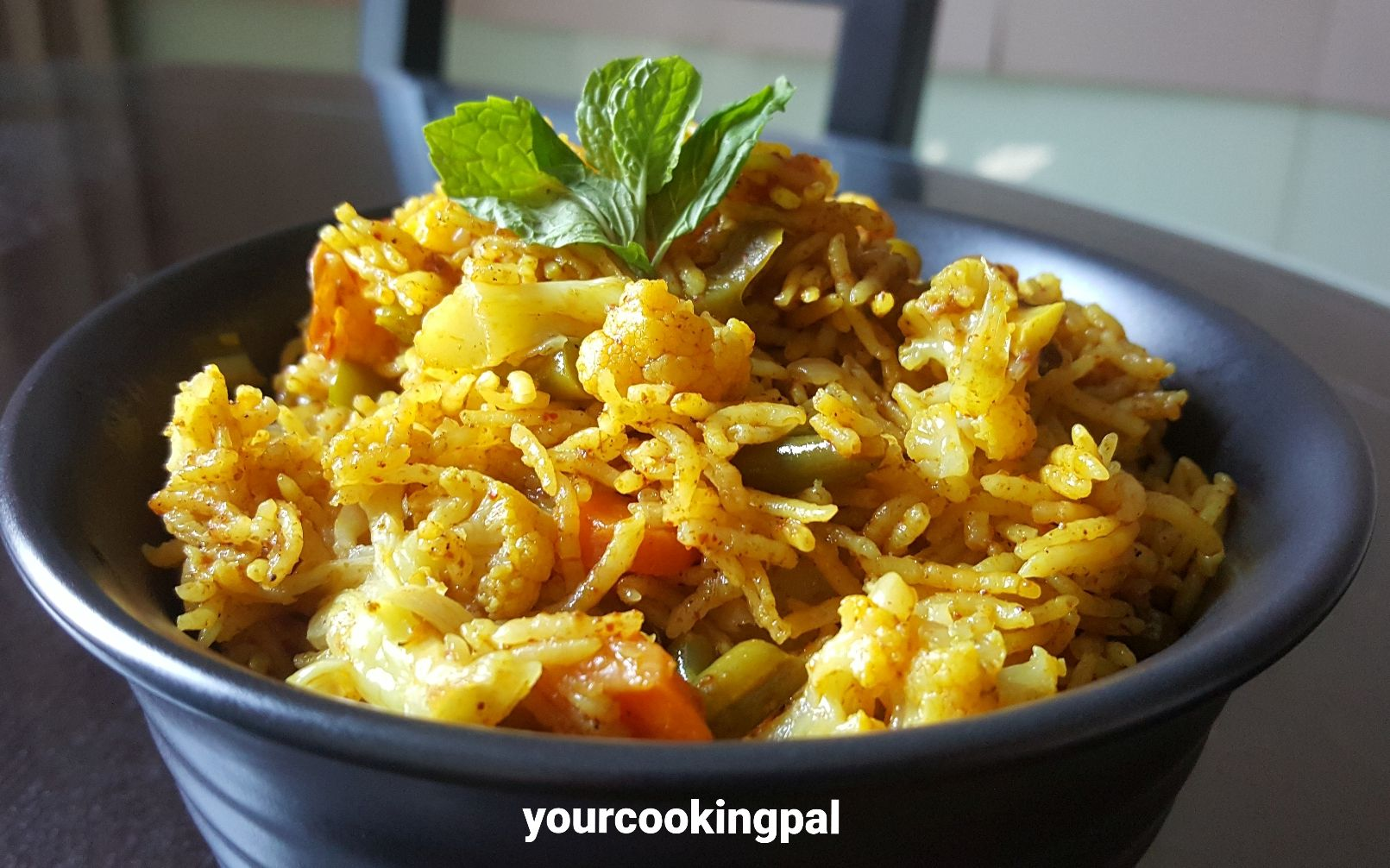 Quick Mix Vegetable Pulao