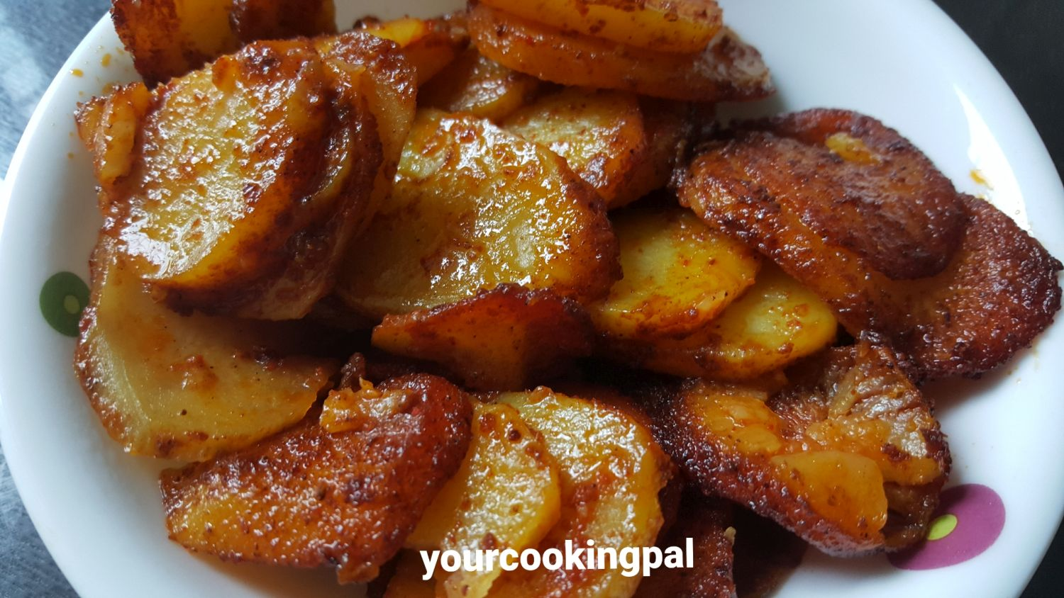 Garlic Potato Fry