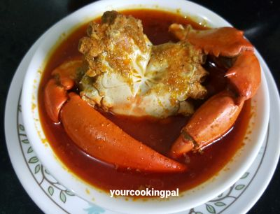 crab curry mini
