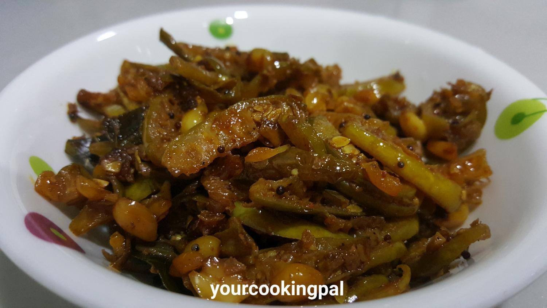 Tedali /Tondali Sabzi – Ivy Gourd Stir Fry