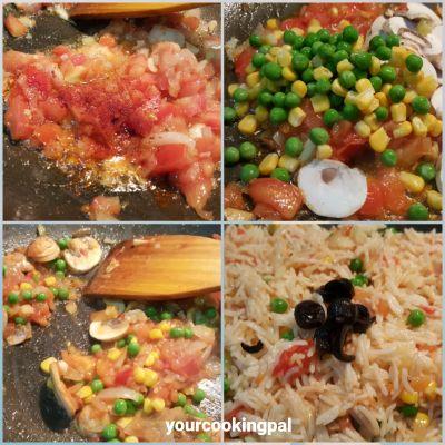 med tomato rice