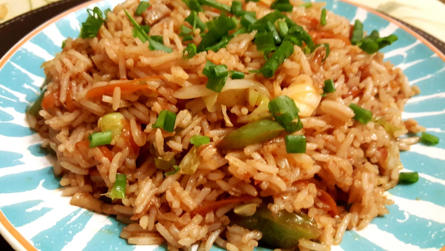 Chilli Garlic Fried Rice