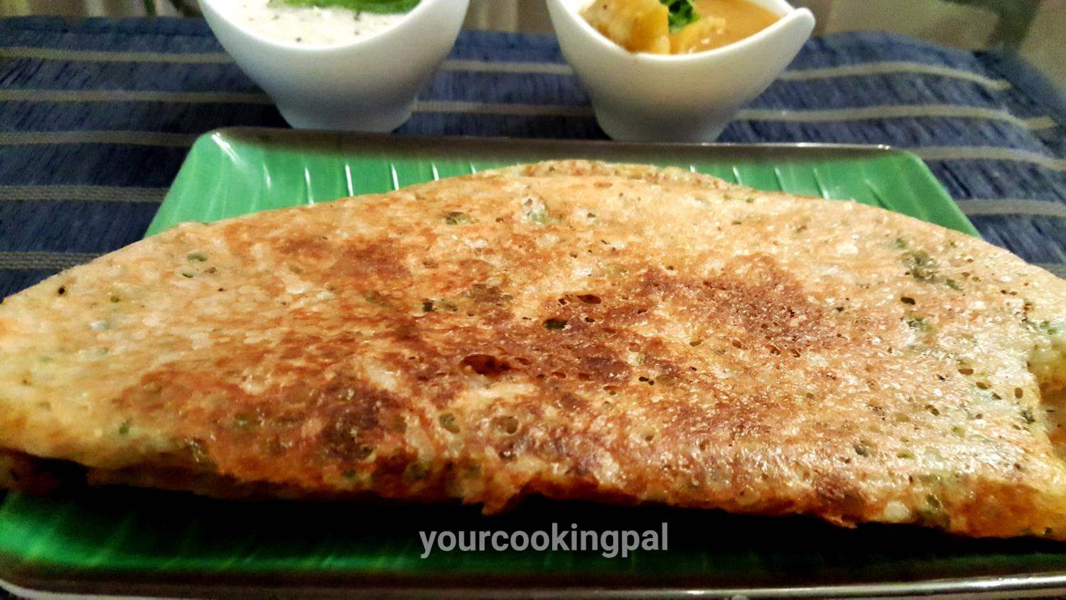 Oats Rava Dosa – How to make Instant Rava Dosa