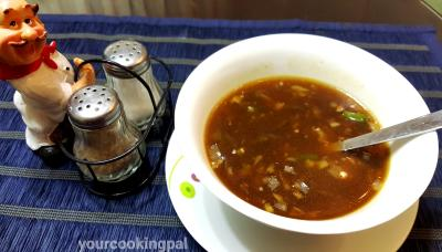 veg hor and sour soup 000003
