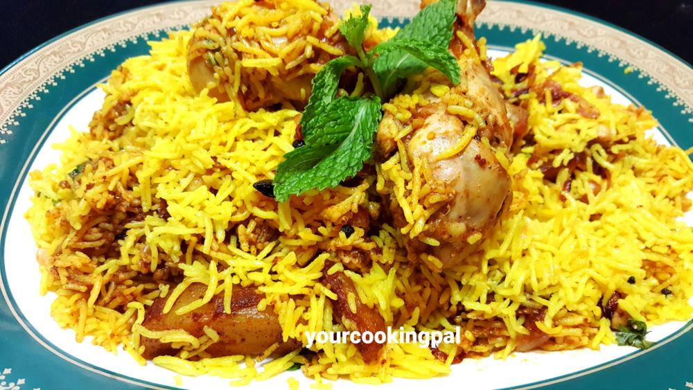 Chicken Biryani final