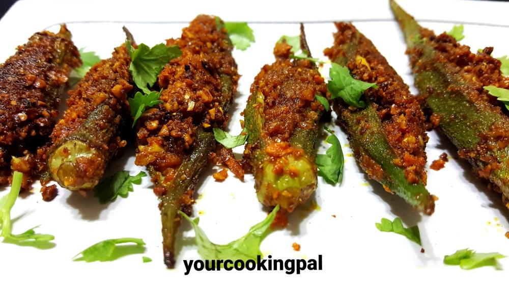 Stuffed Bhindi Fry final