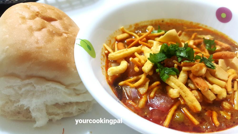 Misal Pav – Fresh Green Peas