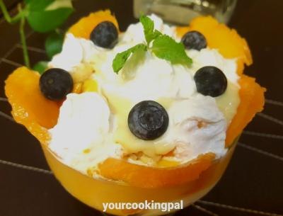 trifle pudding- mango flavour 001