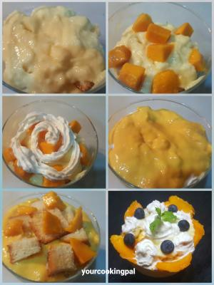 trifle pudding- mango flavour 004