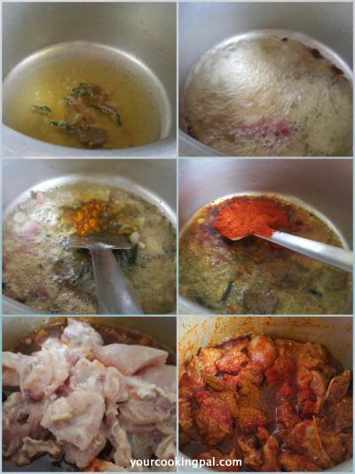 Malwani chikcken curry