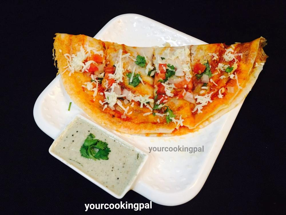 Schezwan Cheese Dosa